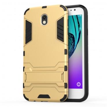 """Robustní kryt """"Impact X"""" pro Samsung Galaxy J7 2017 - zlatý"""
