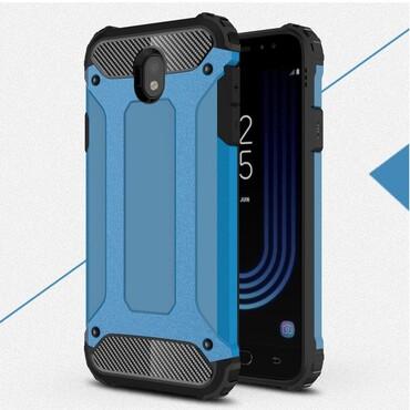 """Robustní obal """"Rock"""" pro Samsung Galaxy J7 2017 - modrý"""