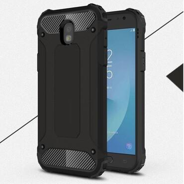 """Robustní obal """"Rock"""" pro Samsung Galaxy J5 2017 - černý"""