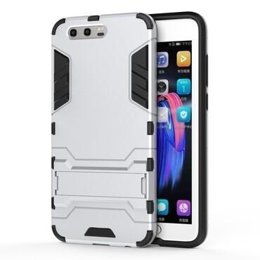 "Robustní kryt ""Impact X"" pro Huawei Honor 9 / Honor 9 Premium - ve stříbrné barvě"