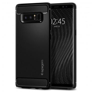 """Kryt Spigen """"Rugged Armor"""" pro Samsung Galaxy Note 8 - black"""