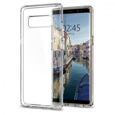 """Obal Spigen """"Ultra Hybrid"""" pro Samsung Galaxy Note 8 - křišťálově jasný"""