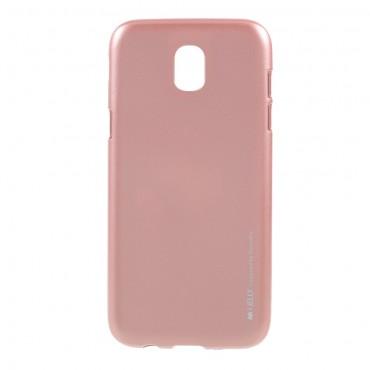 Kryt TPU gel Goospery iJelly Case pro Samsung Galaxy J5 2017 - růžový