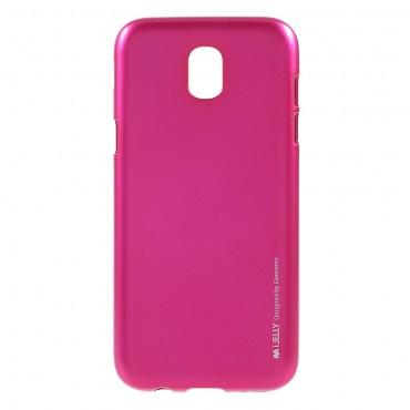 TPU gelový obal Goospery iJelly Case Samsung Galaxy J5 2017 - purpurový