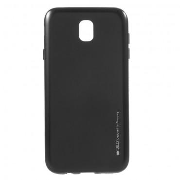Kryt TPU gel Goospery iJelly Case Samsung Galaxy J7 2017 - černý
