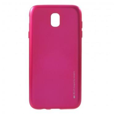 TPU gelový obal Goospery iJelly Case Samsung Galaxy J7 2017 - purpurový