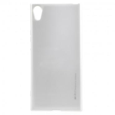 Kryt TPU gel Goospery iJelly Case Sony Xperia XA1 - stříbrné barvy