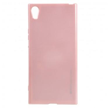 TPU gelový obal Goospery iJelly Case Sony Xperia XA1 - růžový