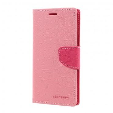 Pouzdro Goospery Fancy Diary pro Huawei Honor 8 Lite / P8 Lite 2017 / Nova Lite - růžové