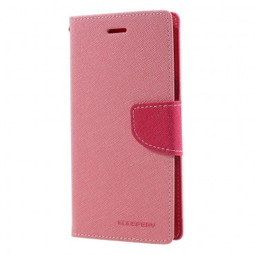 Kryt Goospery Fancy Diary pro Samsung Galaxy J7 2017 - růžový