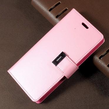 Elegantní pouzdro Goospery Rich Diary pro Samsung Galaxy S8 - růžový