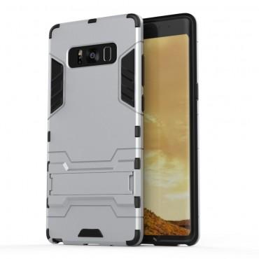 """Robustní kryt """"Impact X"""" pro Samsung Galaxy Note 8 - stříbrné barvy"""