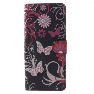 """Módní pouzdro """"Flower World"""" pro Samsung Galaxy Note 8"""