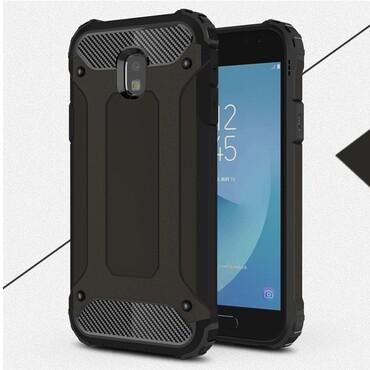 """Robustní obal """"Rock"""" pro Samsung Galaxy J3 2017 - černý"""