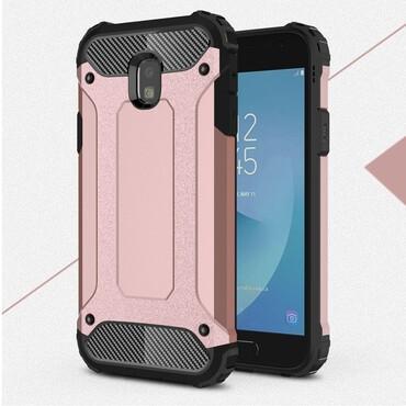 """Robustní kryt """"Rock"""" pro Samsung Galaxy J3 2017 - růžové"""