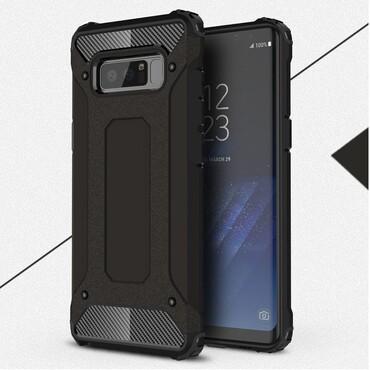 """Robustní kryt """"Rock"""" pro Samsung Galaxy Note 8 - černé"""