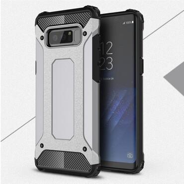 """Robustní obal """"Rock"""" pro Samsung Galaxy Note 8 - šedý"""