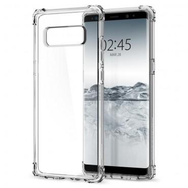"""Obal Spigen """"Crystal Shell"""" pro Samsung Galaxy Note 8 - křišťálově průhledný"""