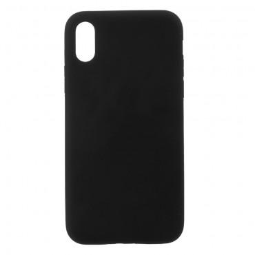 TPU gelový obal pro iPhone X / XS - černý