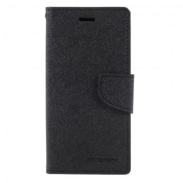 Pouzdro Goospery Fancy Diary pro iPhone X / XS - černé