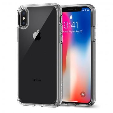 """Obal Spigen """"Ultra Hybrid"""" pro iPhone X - křišťálově jasný"""