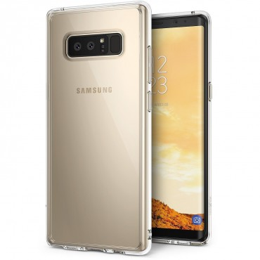 """Kryt Ringke """"Fusion"""" pro Samsung Galaxy Note 8 - crystal view"""