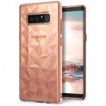 """Obal Ringke """"Air Prism"""" pro Samsung Galaxy Note 8 - růžově zlatý"""