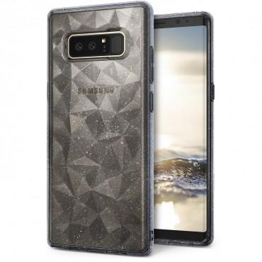 "Obal Ringke ""Air Prism"" pro Samsung Galaxy Note 8 - průhledný s třpytkami"