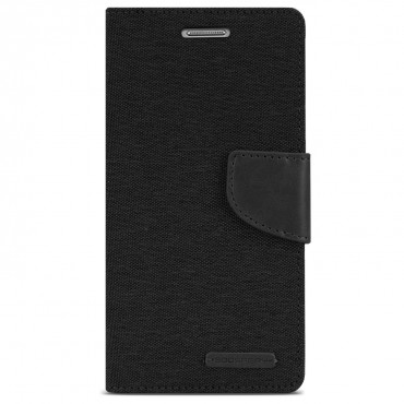 Pouzdro Goospery Canvas Diary pro Samsung Galaxy Note 8 - černé