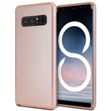 Kryt TPU gel Goospery iJelly Case pro Samsung Galaxy Note 8 - růžový