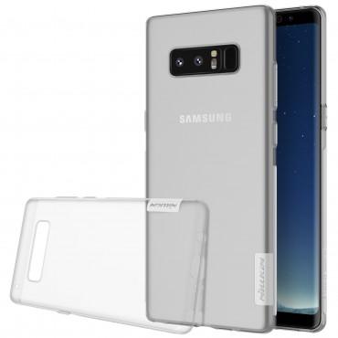 "Prémiový tenký obal ""Nature"" Samsung Galaxy Note 8 - průhledný"
