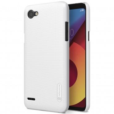"Premium kryt ""Super Frosted Shield"" pro LG Q6 - bílý"