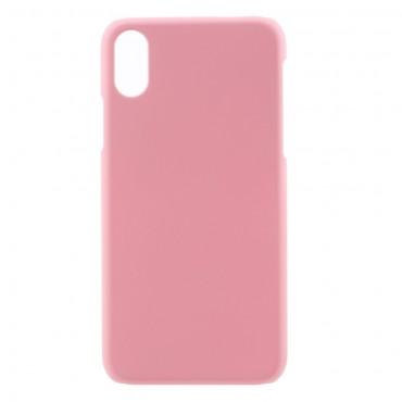 Tvrdý TPU obal pro iPhone X / XS - růžový
