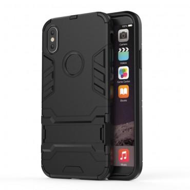 """Robustní obal """"Impact X"""" pro iPhone X / XS - černý"""