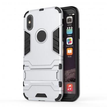 "Robustní obal ""Impact X"" pro iPhone X / XS - stříbrný"