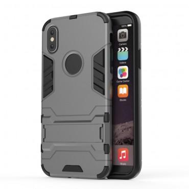 """Robustní obal """"Impact X"""" pro iPhone X / XS - šedý"""