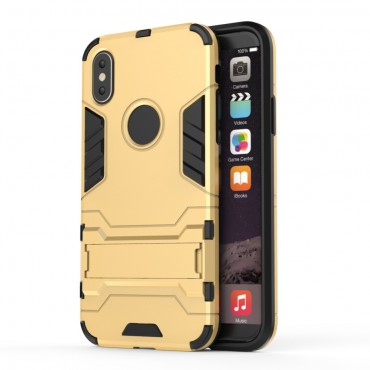"Robustní obal ""Impact X"" pro iPhone X / XS - zlaté barvy"