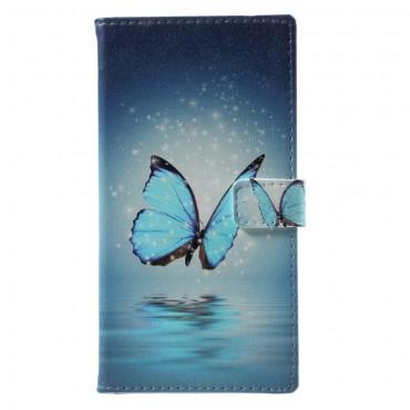 """Módní pouzdro """"Blue Buttefly"""" pro LG Q6"""