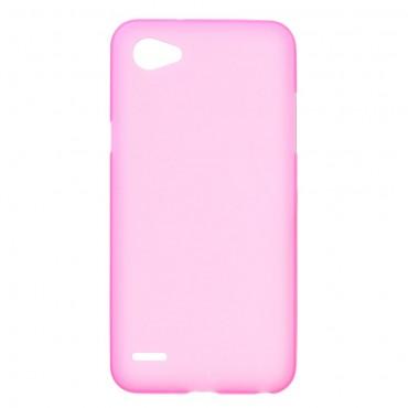Kryt TPU gelpro LG Q6 - růžové