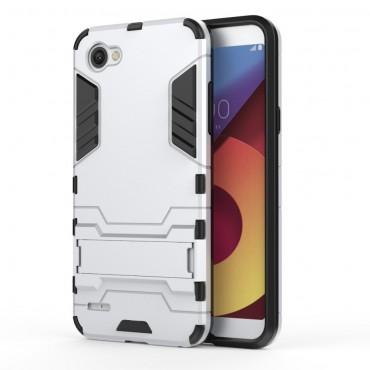 """Robustní kryt """"Impact X"""" pro LG Q6 - ve stříbrné barvě"""