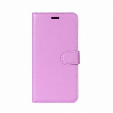 """Elegantní pouzdro """"Litchi"""" pro Huawei P9 Lite Mini - růžové"""