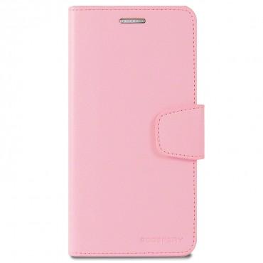 Elegantní pouzdro Goospery Sonata pro iPhone X / XS - růžové