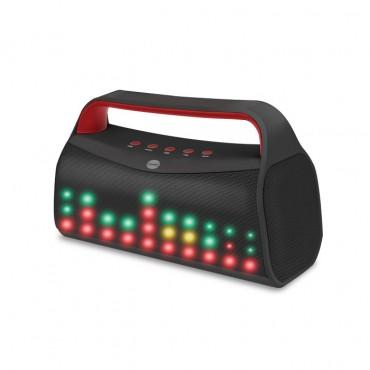 """Bluetooth reproduktor """"LED Radio"""" - černý"""