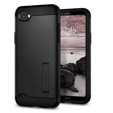 "Kryt Spigen ""Slim Armor"" pro LG Q6 - black"