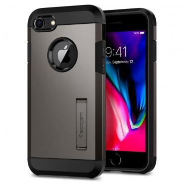 """Obal Spigen """"Tough Armor"""" pro iPhone 8 - kovově černý"""