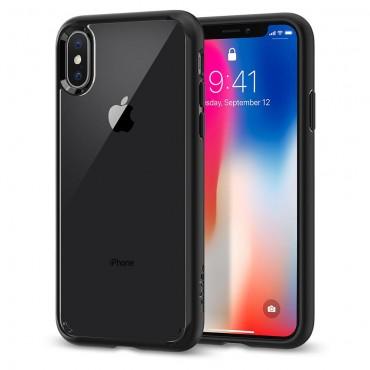 "Kryt Spigen ""Ultra Hybrid"" pro iPhone X - matte black"