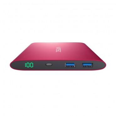 Powerbanka Vinsic - 20 000 mAh - červená