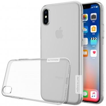 """Prémiový tenký obal """"Nature"""" pro iPhone X / XS - průhledný"""