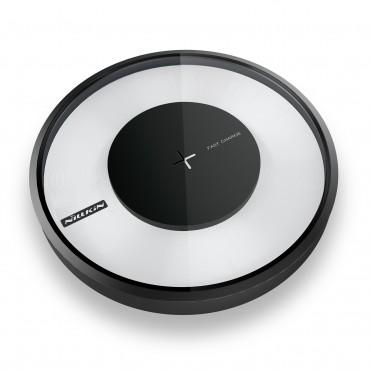 """Bezdrátová nabíjecí stanice """"Magic Disc IV"""" pro všechna mobilní zařízení podporující QI - černá"""