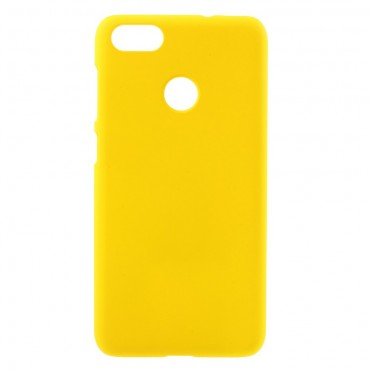 Pevný kryt TPU pro Huawei P9 Lite Mini - žlutý